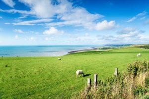 The Ceredigion Coastline in Wales