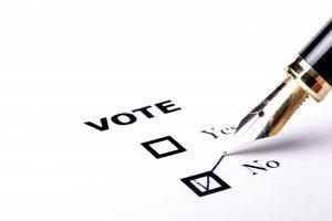 Voting No